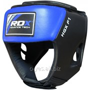 Боксерский шлем RDX Blue new фото