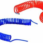 Рукав пневматический спиральный, PUL12x8-5 фото