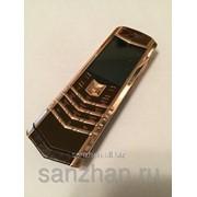 Телефон Vertu Signature S Design Dark Chocolate Alligator exclusive 86962 фото