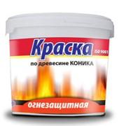 Огнезащитная краска по древесине Коника-Д-01 фото