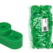 Изолятор угловой зелёный TDM фото