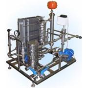 Установка для пастеризации и охлаждения пива, кваса, медовухи с электрокотлом (патеризатор) фото
