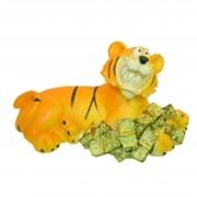 Сувениры из керамики, Тигр керамический с деньгами (тк-11) фото