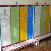 Шкаф для детской одежды трехсекционный для гардеробной -- ШДДО-3 фото