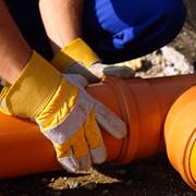 Монтаж канализации.Замена канализации. Ремонт канализации. фото