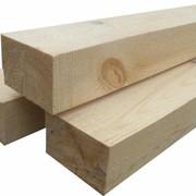 Брус деревянный обрезной фото