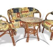 Комплект из ротанга для отдыха Золотая осень 01/20 - мебель из ротанга фото