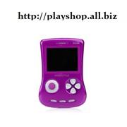 Приставка игровая EXEQ FreeStyle фиолетовый(поддежка игр8 16 32б Бонус 350 игр фото