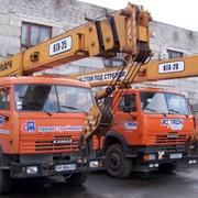 Автокран КТА-25, КТА-28 в аренду Донецкая область фото
