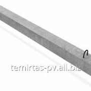 Сваи забивные железобетонные цельные, квадратного сплошного сечения 400х400 мм. марка С 100.40 – 13 фото