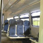 Интерьер салона пассажирского вагона РА фото
