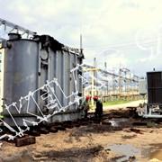 Демонтаж трансформаторов(погрузка, выгрузка, перемещение по ПС)