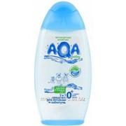 Средство для купания и шампунь 2 в 1 Aqa Baby 250 мл./12 фото