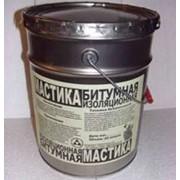 Мастика битумная изоляционная МБИ фото
