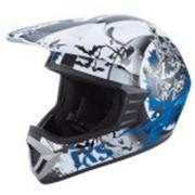 IXS Шлем кроссовый HX276 SWORD сине-белый фото
