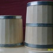 Кадки для солений из осины 20 литров фото