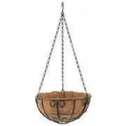 Сибртех Подвесное кашпо с декором 25 см, с кокосовой корзиной Palisad фото