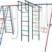 Спортивные уличные комплексы, Комплексы спортивно-игровые детские фото
