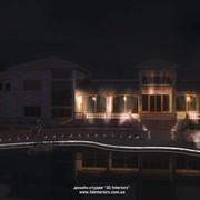 Благоустройство территории вокруг дома, Светодизайн фасадов, домов, коттеджей, территории, Симферополь фото
