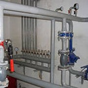 Монтаж систем отопления, водоснабжения и канализации из полимерных материалов фото