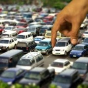 Платная парковка для легкового и большегрузного транспорта фото