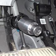 Механическое противоугонное устройство на руль фото