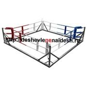 Ринг боксёрский на раме (Боевая зона 6х6м, монтажная площадка 7.6х7.6м) 196 фото