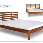 """Кровать двуспальная """"Модерн"""" фото"""