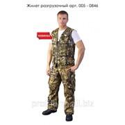 Жилет разгрузочный милитари, арт. 005-0846 фото