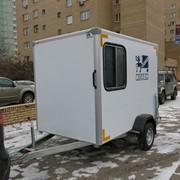 Прицеп-фургон дом на колесах ИСТОК фото