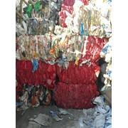 Полимерные отходы (пвд, пнд) в виде пленки фото