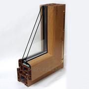 Профиль дверной Тб серии STARTEC 3-х камерный орех фото