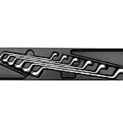 Набор накидных ключей, 6 предметов king tony 9-1716mr фото