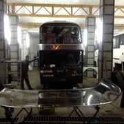 Изготовление переднего, бокового и заднего автобусного стекла на заказ фото