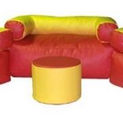 Комплект мягконабивной мебели для детей Уют(со столиком) фото