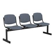 Блоки стульев 3-местный мягкие фото