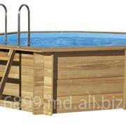 Бассейн деревянный фото