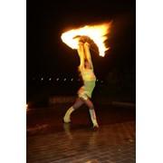 Организация огненного шоу фото
