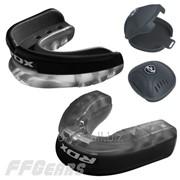 Капа боксерская RDX Gel 3D Black фото
