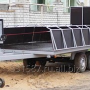 Трейлер для перевозки судов на воздушной подушке фото