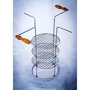 Тарелка-решетка четырех-ярусная для тандыров фото
