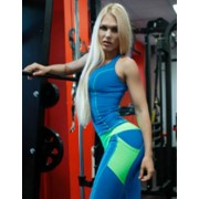 Топ спортивный Bona Fide Valkyria Blue, M фото