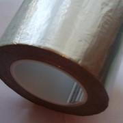 Лента кровельная алюминиево-битумная 100мм/10м. для ремонта кровель. фото