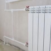 Установка радиаторов отопления фото