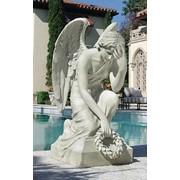 Скульптура ангела фото