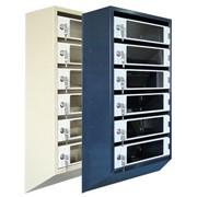 Почтовые ящики 6 -секционные со стеклом Серия 3 фото
