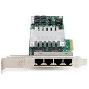 436431-001 Контроллер HP NC364T PCI-E Mezzine server adapter - 4-port, 1000base-T fiber conector фото