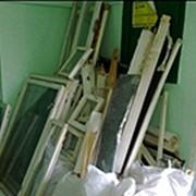 Вывоз старых демонтированных окон и мусора фото