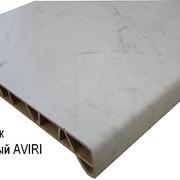 Подоконники композитные АVIRI (мрамор) фото