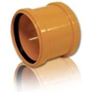 Муфты ПВХ ф315 для канализационных труб фото